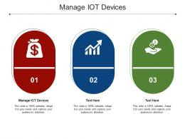 Manage IOT Devices Ppt Powerpoint Presentation Icon Cpb