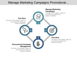Manage Marketing Campaigns Promotional Campaign Management Best Sales Resume Cpb