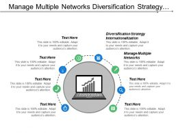 Manage Multiple Networks Diversification Strategy Internationalization Developing Strategy Cpb