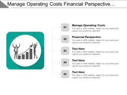Manage Operating Costs Financial Perspective Access Anywhere Anytime