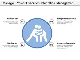Manage Project Execution Integration Management Controlling Problem Solving