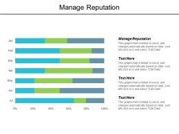 Manage Reputation Ppt Powerpoint Presentation Gallery Graphics Design Cpb