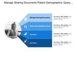 Manage Sharing Documents Patient Demographics Query Base Standard