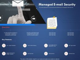 Managed E Mail Security Multiple Systems Ppt Powerpoint Presentation Template