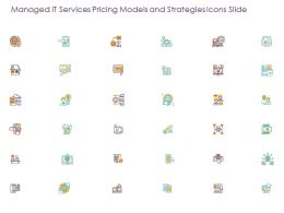 Managed It Services Pricing Models And Strategies Icons Slide Ppt Powerpoint Presentation