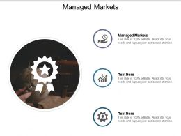 Managed Markets Ppt Powerpoint Presentation File Slide Download Cpb