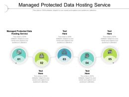 Managed Protected Data Hosting Service Ppt Powerpoint Presentation Show Cpb