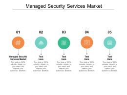 Managed Security Services Market Ppt Powerpoint Presentation Pictures Cpb