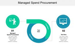 Managed Spend Procurement Ppt Powerpoint Presentation File Themes Cpb
