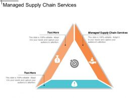 Managed Supply Chain Services Ppt Powerpoint Presentation Icon Styles Cpb