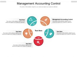 Management Accounting Control Ppt Powerpoint Presentation Icon Gridlines Cpb