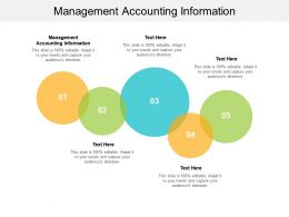 Management Accounting Information Ppt Powerpoint Presentation Outline Cpb