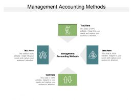 Management Accounting Methods Ppt Powerpoint Presentation Guidelines Cpb