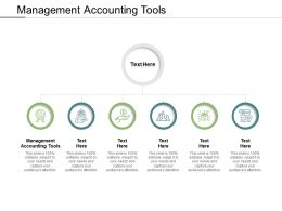 Management Accounting Tools Ppt Powerpoint Presentation Gallery Background Cpb