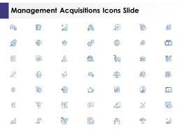 Management Acquisitions Icons Slide L1052 Ppt Powerpoint Show