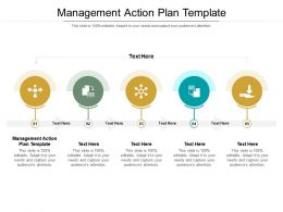 Management Action Plan Template Ppt Powerpoint Presentation Styles Model Cpb