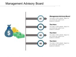 Management Advisory Board Ppt Powerpoint Presentation Icon Gallery Cpb