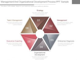 Management And Organizational Development Process Ppt Sample