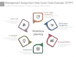 Management Assignment Help Cycle Chart Example Of Ppt