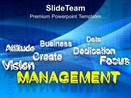 Management At Forefront Business Success PowerPoint Templates PPT Themes And Graphics 0213