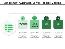 Management Automation Service Process Mapping Competition Analysis Customer Profiling
