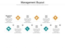 Management Buyout Ppt Powerpoint Presentation Infographics Grid Cpb