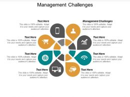 Management Challenges Ppt Powerpoint Presentation Diagram Graph Charts Cpb