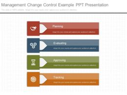 Management Change Control Example Ppt Presentation