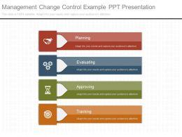 Management Change Control Example Ppt Presentation