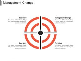 Management Change Ppt Powerpoint Presentation Infographic Template Influencers Cpb