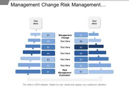 Management Change Risk Management Evaluation Organization Structure Champion Evangelists