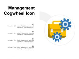 Management Cogwheel Icon