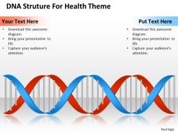Management Consultant Dna Struture For Health Theme Powerpoint Templates PPT Backgrounds Slides 0617