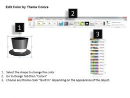 Management Consultant Thinking Hats For Strategy Powerpoint Templates PPT Backgrounds Slides 0617