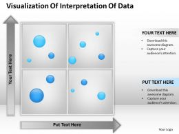 Management Consultant Visualization Of Interpretation Data Powerpoint Templates 0528