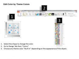 Management Consultant Visualization Of Interpretation Data Powerpoint Templates 0528