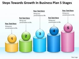 Management Consultants In Business Plan 5 Stages Powerpoint Templates PPT Backgrounds For Slides 0530