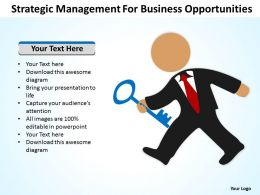 Management Consultants Strategic For Business Opportunities Powerpoint Slides 0527