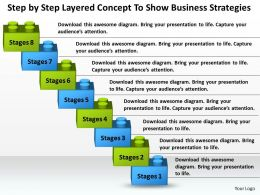 Management Consultants To Show Business Strategies Powerpoint Templates PPT Backgrounds For Slides 8 Stages 0530
