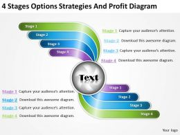 management_consulting_business_4_stages_options_strategies_and_profit_diagram_powerpoint_slides_Slide01
