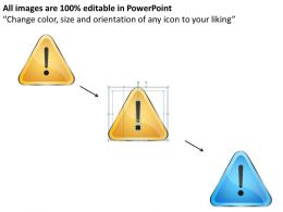 Management Consulting Business Danger Sign Powerpoint Templates PPT Backgrounds For Slides 0527