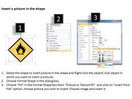 Management Consulting Business Flammable Sign Powerpoint Templates PPT Backgrounds For Slides 0527