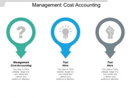 Management Cost Accounting Ppt Powerpoint Presentation Styles Topics Cpb