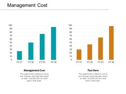 Management Cost Ppt Powerpoint Presentation Layouts Tips Cpb