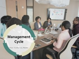 Management Cycle Planning Monitoring Planning Circular Process