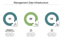 Management Data Infrastructure Ppt Powerpoint Presentation Infographics Background Image Cpb