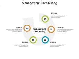 Management Data Mining Ppt Powerpoint Presentation Slides Clipart Images Cpb