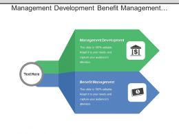 Management Development Benefit Management Complete Business Technical Evaluation