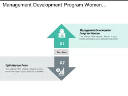 Management Development Program Women Optimization Price Strategic Alliance Cpb