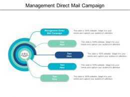 Management Direct Mail Campaign Ppt Powerpoint Presentation Infographics Visuals Cpb